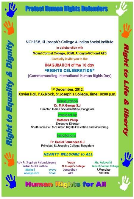 Inv Inagural Card 2012