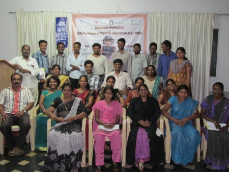 Participants and the resource team