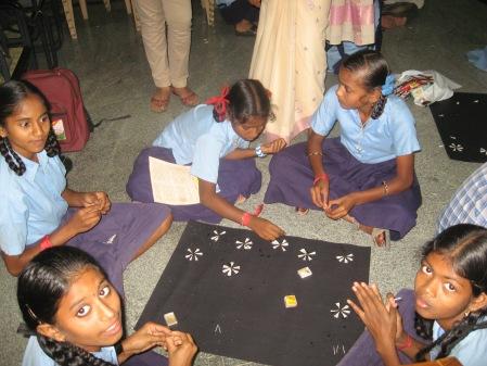 Children Learning Art