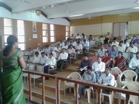 Training program on HR for State resource team-Education Department in Bangalore University on 15th Feb 2013