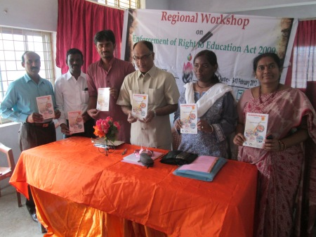 Mr. V. Bhaskara Rao, Secretary, District Legal Service Authority inaugurated the Workshop
