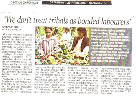 News on Bonded Labourers