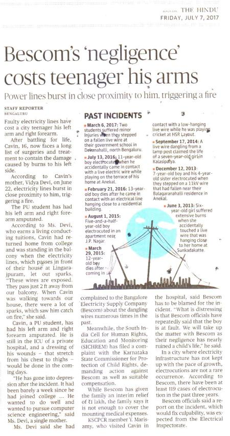 The Hindu Report 7th July 2017