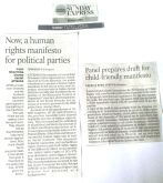 Human Rights Manifesto - Report