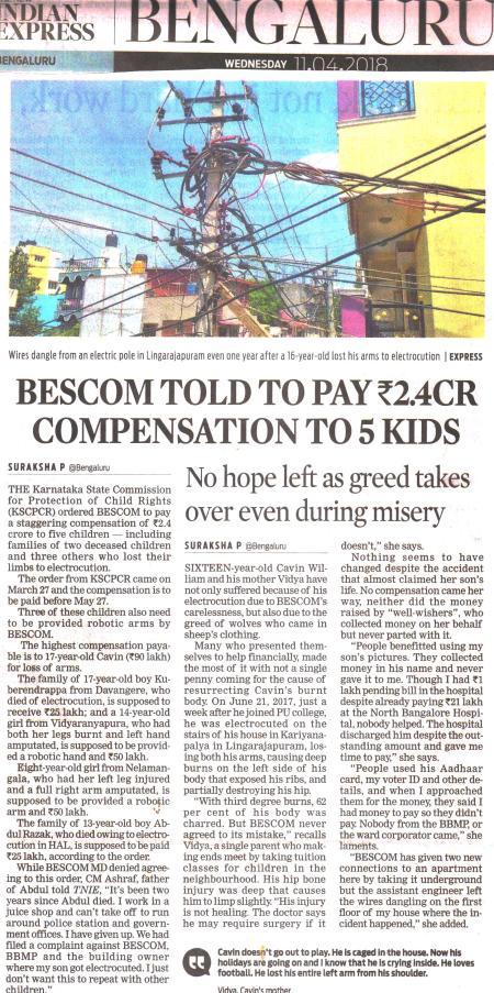 BESCOM Compensation 001